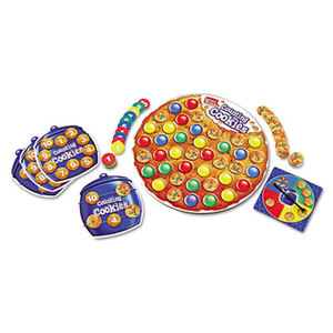 LEARNING RESOURCES/ED.INSIGHTS LER7410 Smart Snacks Counting Cookies Game by LEARNING RESOURCES