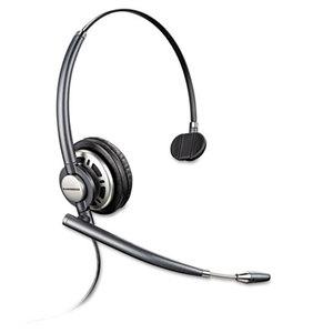 Plantronics, Inc 78712-01 EncorePro Premium Monaural Over-the-Head Headset w/Noise Canceling Microphone by PLANTRONICS, INC.