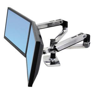 Ergotron, Inc 45-245-026 LX Dual Side-by-Side Arm for WorkFit-D Sit-Stand Desk by ERGOTRON INC