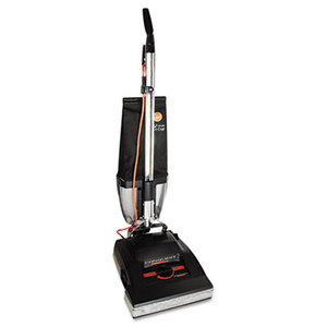 Conquest Bagless Upright Vacuum, 25lb, Black by HOOVER COMPANY