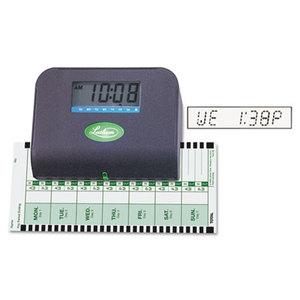 Lathem Time Company 800P 800P Thermal Print Time Recorder, 6 x 3 x 5-1/3 by LATHEM TIME CORPORATION