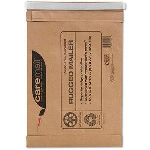 Shurtech Brands, LLC 1143554 Caremail Rugged Padded Mailer, Side Seam, 10 1/2x14 3/4, Light Brown, 25/Carton by SHURTECH