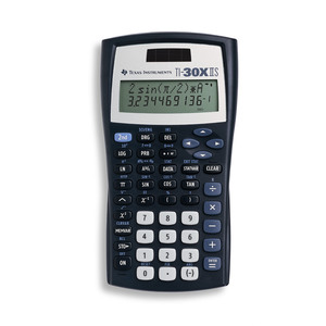 TEXAS INSTRUMENTS INC. 30XIIS/TKT TI-30X IIS 2-Line Scientific Calculators for High School Math and Science (Teacher Kit Pack of 10)