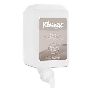 Kimberly-Clark Corporation 12977 Alcohol-Free Foam Hand Sanitizer, 1,000 ml, Clear, 6/Carton by KIMBERLY CLARK