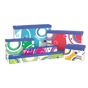 TREND ENTERPRISES, INC. T1020 File 'n Save Bulletin Board Storage Box, 27-3/4 x 19 x 7-1/4, Bright Stars by TREND ENTERPRISES, INC.