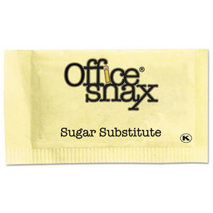 Office Snax 000062 Nutrasweet Yellow Sweetener, 2000 Packets/Carton by OFFICE SNAX, INC.
