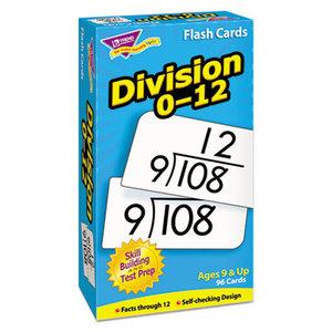 TREND ENTERPRISES, INC. T53106 Skill Drill Flash Cards, 3 x 6, Division by TREND ENTERPRISES, INC.