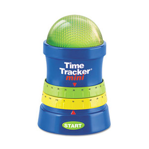 LEARNING RESOURCES/ED.INSIGHTS LER6909 Time Tracker Mini Timer, 3 1/4w x 3 1/4d x 4 3/4h, Blue/Red/Yellow/Green by LEARNING RESOURCES