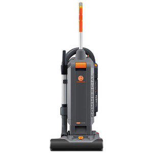 """HOOVER COMPANY CH54115 HushTone Vacuum Cleaner with Intellibelt, 15"""", Orange/Gray by HOOVER COMPANY"""
