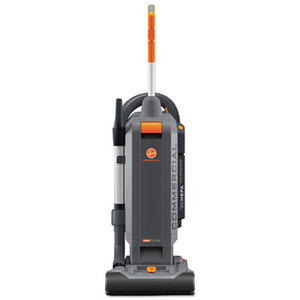 "HushTone Vacuum Cleaner with Intellibelt, 13"", Orange/Gray by HOOVER COMPANY"