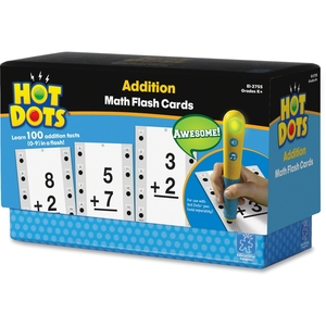 EDUCATIONAL INSIGHTS 2755 Educational Insights Hot Dots Math Flash Cards Addition by Hot Dots