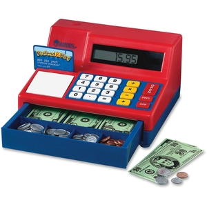 LEARNING RESOURCES/ED.INSIGHTS LER2629 LEARNING RESOURCES LER2629 CALCULATOR CASH REGISTER by Pretend & Play
