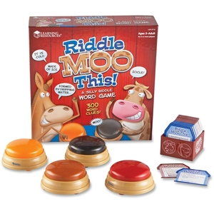 LEARNING RESOURCES/ED.INSIGHTS LER3772 Game,Silly Riddle,Word by Learning Resources