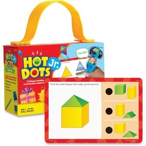 EDUCATIONAL INSIGHTS 2355 Educational Insights Hot DotsJr. Card Sets, Shapes by Educational Insights