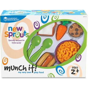LEARNING RESOURCES/ED.INSIGHTS LER7711 New Sprouts Munch it! My Very Own Play Food by New Sprouts