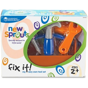 LEARNING RESOURCES/ED.INSIGHTS LER9230 New Sprouts Fix it! My Very Own Tool Set by New Sprouts