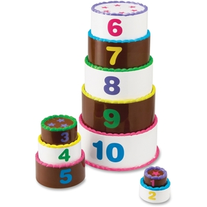 Learning Resources LER7312 Smart Snacks Stack and Count Layer Cake by Smart Snacks