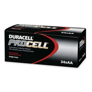 Procter & Gamble PC1500BKD Procell Alkaline Batteries, AA, 144/CT by Duracell