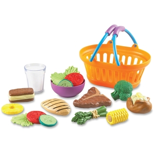 LEARNING RESOURCES/ED.INSIGHTS LER9732 Basket,Dinner,19Pc by New Sprouts