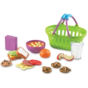 LEARNING RESOURCES/ED.INSIGHTS LER9731 Basket, Lunch,19Pc by New Sprouts
