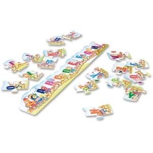 The Chenille Kraft Company 95173 Creativity Street Alphabet Train Floor Puzzle by ChenilleKraft