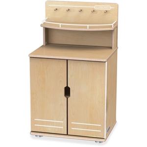 Jonti-Craft, Inc 1707JC Cupboard,2 Shelf,Truemodern by TrueModern