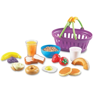 LEARNING RESOURCES/ED.INSIGHTS LER9730 Basket, Breakfast,17Pc by New Sprouts