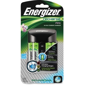 Energizer Holdings, Inc CHPROWB4 Envergizer-Pro Recharger, f/AA/AAA Batteries by Energizer