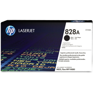 Hewlett-Packard CF358A 828A LaserJet Imaging Drum, 3000 Page Cycle, Black by HP