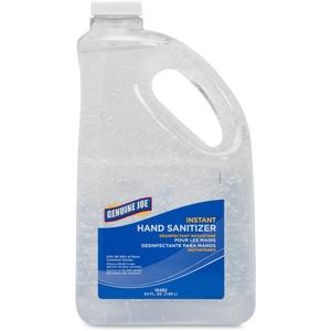 Genuine Joe 10452 Hand Gel Sanitizer, Pump Bottle, 64 oz, Clear by Genuine Joe