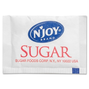 Sugar Foods Corporation 72101 Cane Sugar, 2.8g Packets, 2000/BX by Sugar Foods