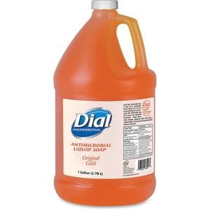 The Dial Corporation 88047 Liquid Soap Refill, Antibacterial, 1 Gallon, Original Gold by Dial