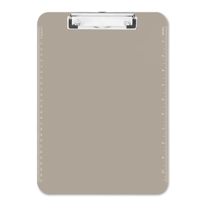 """Sparco Products 01870 Plastic Clipboard,w/ Flat Clip,9""""x12"""",Smoke by Sparco"""