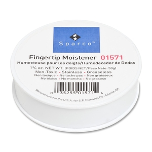 Sparco Products 01571 Fingertip Moistener, Nonskid Back, 1-3/4 oz. by Sparco