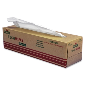 "Tech Wipes,3-Ply, Dispenser,15-1/4""x16-1/2"",1350/BX, White by SKILCRAFT"
