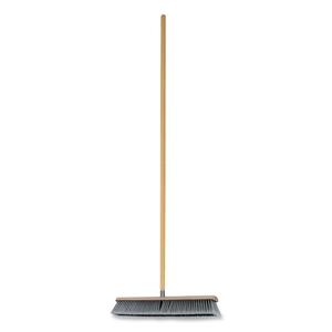 """Genuine Joe 60467 Floor Sweep w/ Handle, 24""""W,Heavy-Duty, 1-1/8""""x60""""handle by Genuine Joe"""