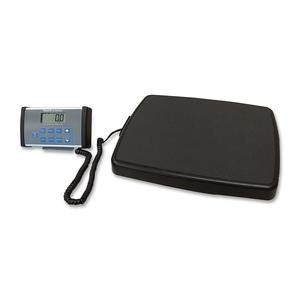 "Jarden Corporation 498KL Digital Scale, w/Remote Display, 14""x17-1/4""x2"", Black/Gray by Health o Meter"
