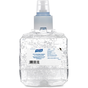 Gojo Industries, Inc 1903-02 Green Certified Hand Sanitizer, 1200ml, Clear by Purell