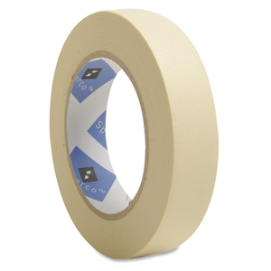 """Sparco Products 64002 Economy Masking Tape, 3"""" Core, 1""""x60 Yds, Natural Kraft by Sparco"""