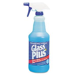 Diversey, Inc DRK 94378 Glass Cleaner, 32oz Spray Bottle, 12/Carton by DIVERSEY