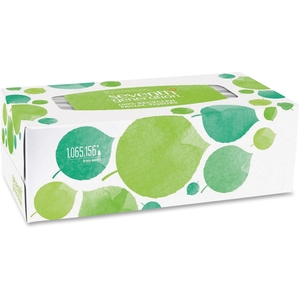 Seventh Generation, Inc 13712 Facial Tissue, Flat Box, Recycled, 2-Ply, 175 Sht/BX, WE by Seventh Generation