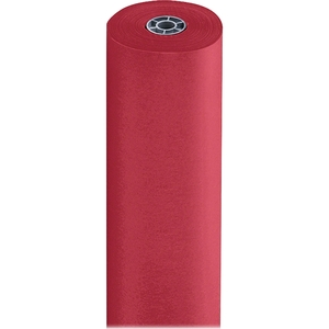 "PACON CORPORATION 67041 Art Kraft Paper, 36""x1000', Scarlet by Pacon"