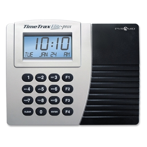 Pyramid Time Systems TTPROXEK Time/Clock System, Proximity, w/15 Cards, Keypad, Grey/Black by Pyramid Time Systems