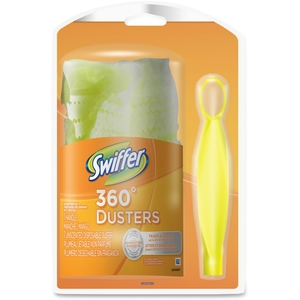 Procter & Gamble 3700016942 Swiffer Dusters Starter Kit,w/1 Handle and 1 Duster, YW by Swiffer