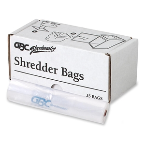 ACCO Brands Corporation 1765010 Poly Shredder Bags,Medium Up To 19 Gallon,25/BX,Clear by Swingline