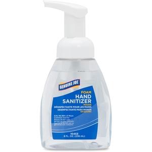 Genuine Joe 10453 Foaming Hand Sanitizer, Pump Bottle, 8 oz by Genuine Joe