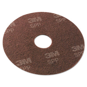 """3M SPP13 Surface Preparation Pad, 13"""", Maroon, 10/Carton by 3M/COMMERCIAL TAPE DIV."""