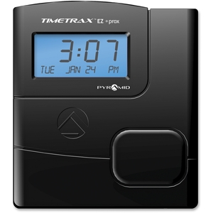 Pyramid Time Systems TTEZPROXEK EZ Proximity Time Clock System, w/15 Badges,Black by Pyramid Time Systems