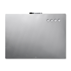"""ACCO Brands Corporation 79245 Multi-functional Board, 17""""x23"""", Stainless Steel by Quartet"""