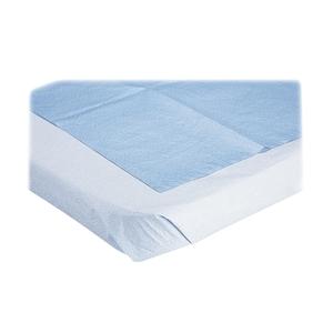 "Medline Industries, Inc NON24333 Stretcher Sheet, Disposable, 40""x72"", 50/BX, Blue by Medline"